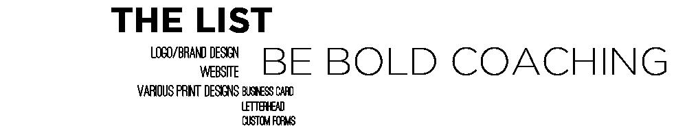 BeBoldList