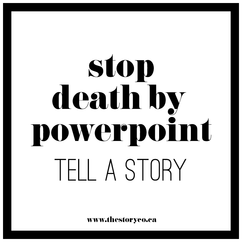 Stop Death By Powerpoint