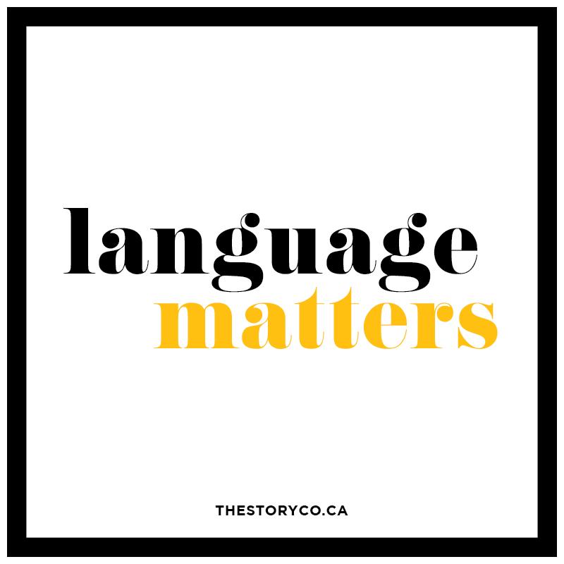 language matters