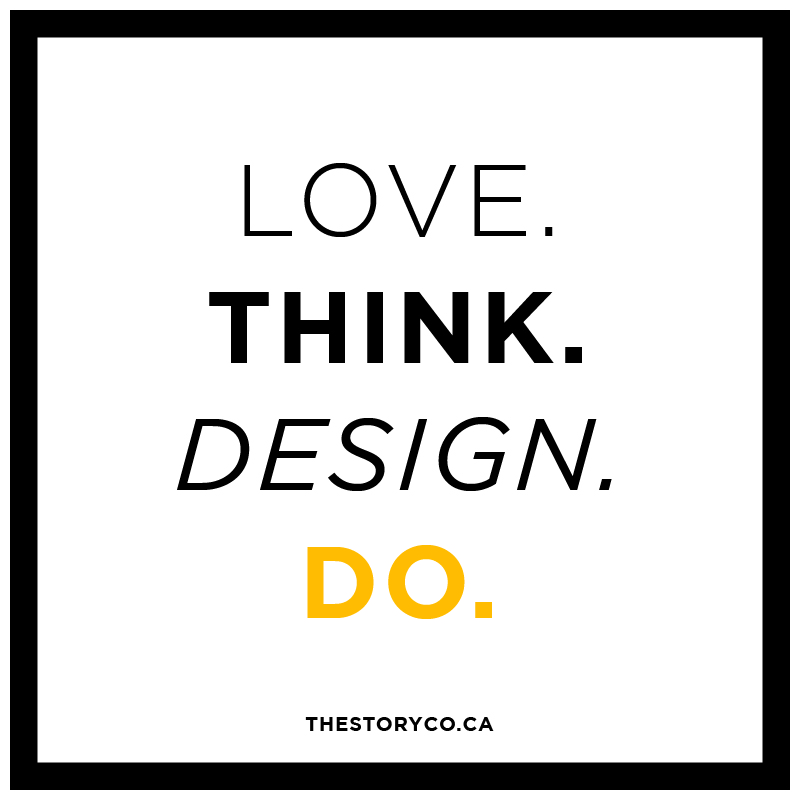 love. think. design. do.